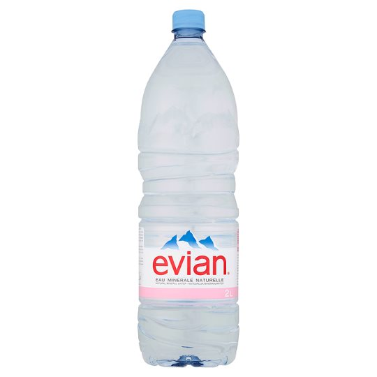 Evian Mineral Water - 2 litre   Alcohol and Booze