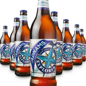 ADNAMS. East Coast Blonde Explorer Beer 4 X 500ml