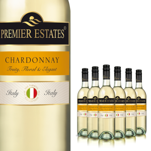 Premier Estates Chardonnay White Wine – 75cl